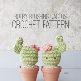 Bulby Blushing Cactus Crochet Pattern