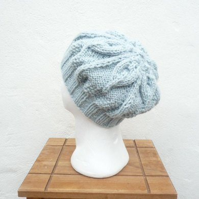 Floral Slouchy Hat