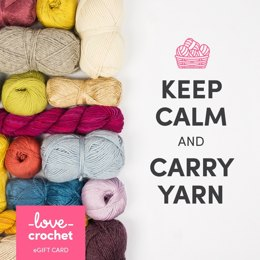 LoveCrochet eGift Card - Keep Calm