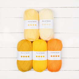 Paintbox Yarns Bella Coco Ombre Pack - Paintbox Yarns Simply DK 5 Ball Colour Pack