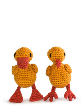 Easter Duckling and Chick in Toft Fine Yarn, DK, Aran & Chunky - Downloadable PDF
