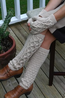 Mittens and Leg Warmers