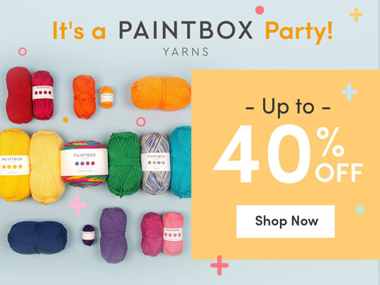 It's a Paintbox Yarns Party! Up to 40 percent off