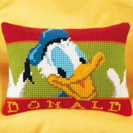 Vervaco Disney - Donald Duck Cross Stitch Cushion Kit - 40cm x 28cm