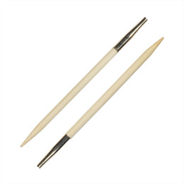 Knitter's Pride Bamboo Interchangeable Needle (1 pair)