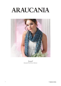 Scarf in Araucania Botany Lace
