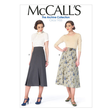 McCall's Misses' Skirts and Belt M6993 - Sewing Pattern