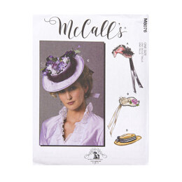 McCall's Misses' Historical Hats M8076 - Sewing Pattern