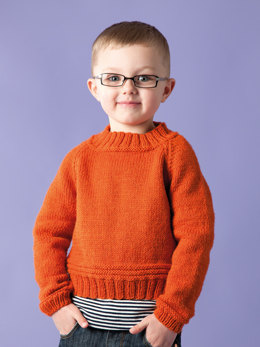 Nate Sweater in Rowan Pure Wool Worsted