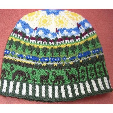 Country roads beanie