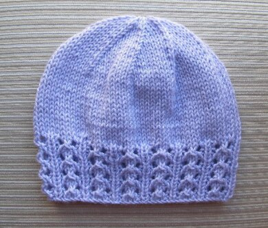 Zhanna- Hat with a Lace Border for a Lady