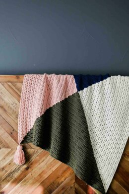Quad Color Throw