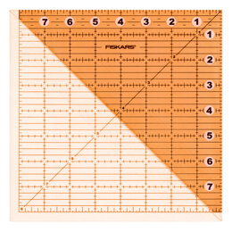 Fiskars Acrylic Folding Square Ruler - 8 x 8in