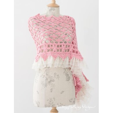 Daydream - A Lace Rectangle Wrap