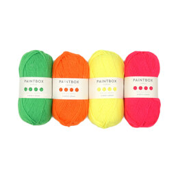 Paintbox Yarns Simply Aran 4 Ball Color Pack Neons