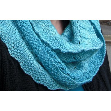 Infinity Palindrome Scarf