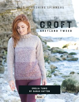 Emelia Tunic in West Yorkshire Spinners The Croft Shetland Tweed - DBP0057 - Downloadable PDF