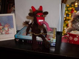 Krampus on the shelf
