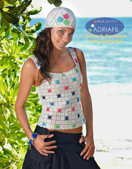 Panarea Twin Set in Adriafil Cheope - Downloadable PDF