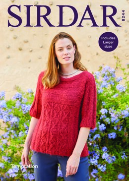Cardigan in Temptation  in Sirdar - 8244 - Downloadable PDF