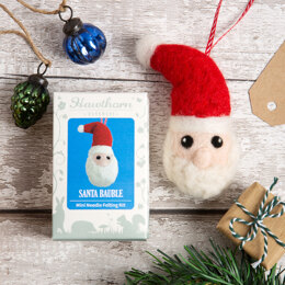 Hawthorn Handmade Santa Bauble Needle Felting Kit