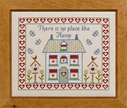 Historical Sampler Company There Is No Place Like Home Sampler Cross Stitch Kit