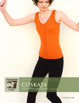 Coskata Sleeveless Pullover in Juniper Moon Findley DK - Downloadable PDF