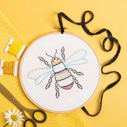 Hawthorn Handmade Bee Contemporary Embroidery Kit
