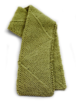 Yin Yang Scarf in Lion Brand Wool-Ease - 90199AD