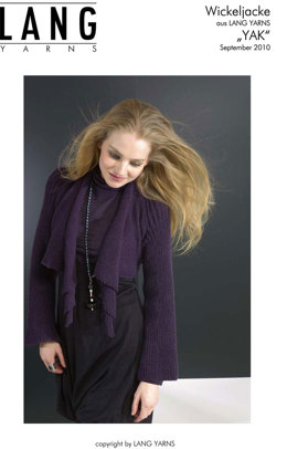 Wickeljacke in Lang Yarns Yak