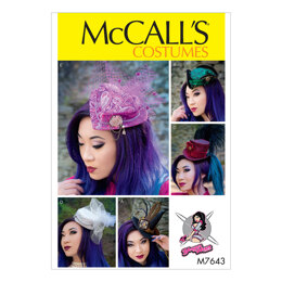 McCall's Fascinators M7643 - Sewing Pattern