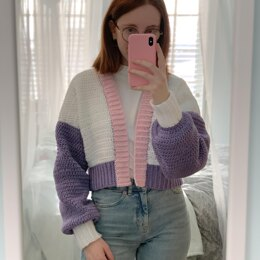 Crochet Cropped Cardigan