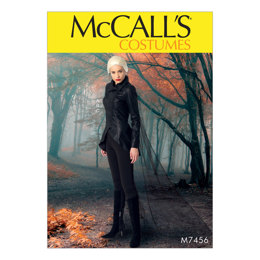McCall's Misses' Seamed Jacket, Stirrup Leggings and Cape M7456 - Sewing Pattern