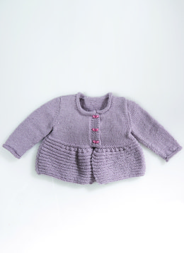 Babies Jacket in Bergere de France Ideal - 60437-09 - Downloadable PDF