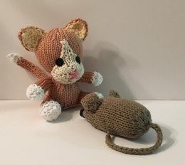 Knitkinz Kitten - for Your Office