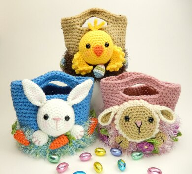 Easter Treat Bags, Bunny, Chick and Lamb