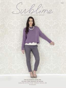 The Eleventh Sublime Extra Fine Merino DK Book by Sublime