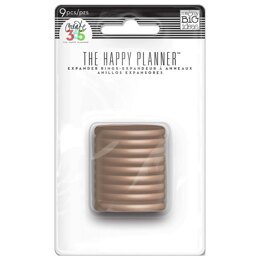 The Happy Planner Rose Gold Classic Disc