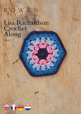Lisa Richardson Crochet Along Week 2 in Rowan Summerlite 4 Ply