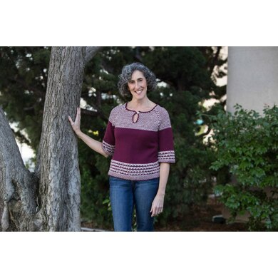 Soho Slip Stitch Video Sweater Class (and pattern)