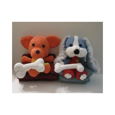 Knitkinz Two Dogs