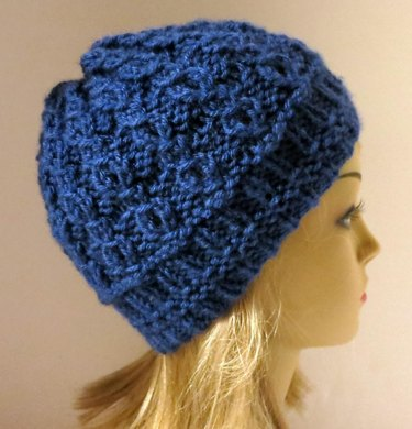 Isobel - A Mock Cable Hat Knitting pattern by Grace Sines  41e6161ba1f