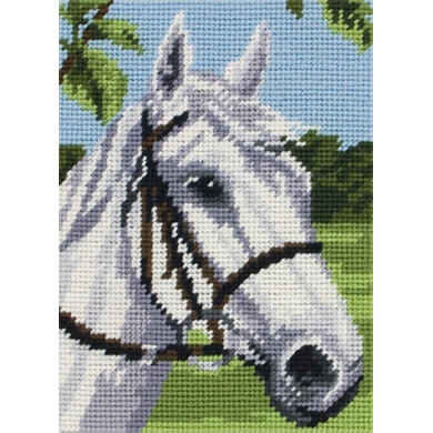 Anchor White Horse Tapestry Kit