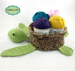 Sea Turtle Storage Basket