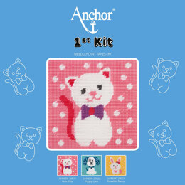 Anchor 1st Kit - Cute Kitty Tapestry Kit