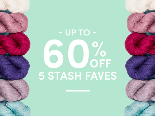 Up to 60 percent off 5 Stash Faves! Today Only!