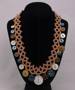 """Faux"" Tatted Necklace"
