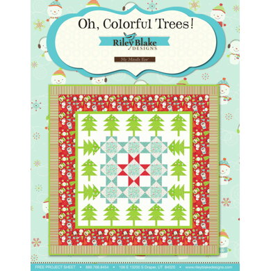 Riley Blake Oh, Colorful Trees! - Downloadable PDF