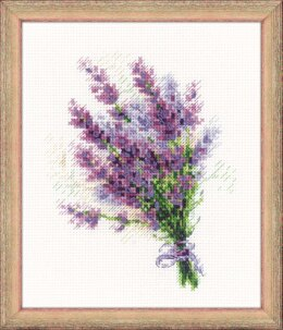 Riolis Lavender Cross Stitch Kit
