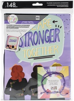 Me & My Big Ideas Happy Planner Classic Planner Companion Accessories - Stronger Together